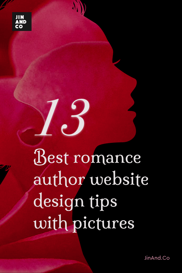 13 Best romance author website design tips with pictures (PDF)