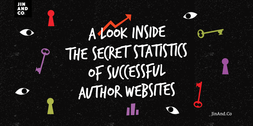 A look inside the secret statistics of successful author websites